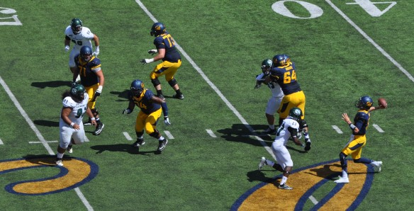QB Jared Goff Going Deep