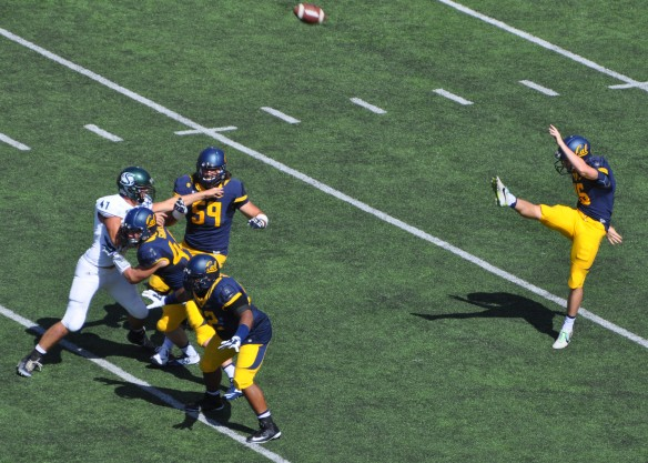 One of Only 2 Punts in the Game by Cal P Cole Leininger