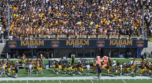 Kabam Logos on Student Section