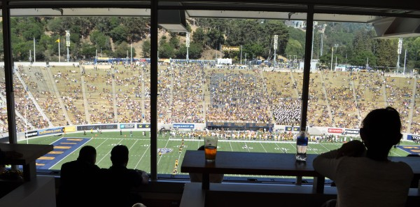 Cal v. Sacramento State 140906 55 View from the Kabam Box