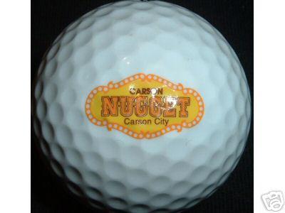 Casino Logo Ball Carson Nugget Carson City NV