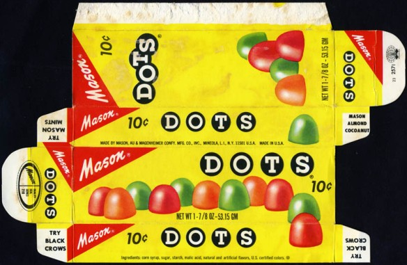 Dots Candy Box 1970's
