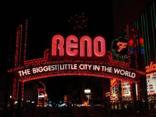 Reno The Biggest Little City in the World Sign