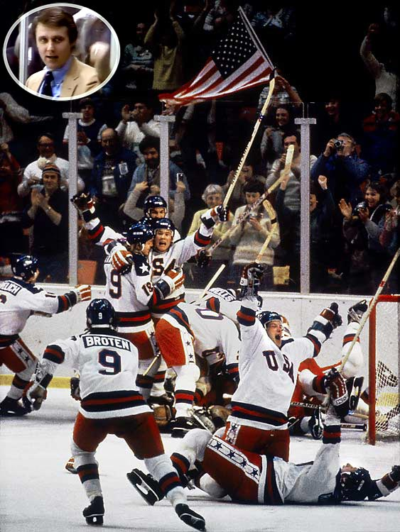 The Miracle on Ice celebration with Herb Brooks