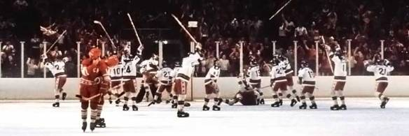 The Miracle on Ice celebration