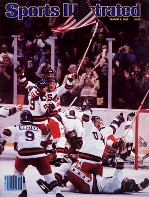 The Miracle on Ice Sports Illustrated cover