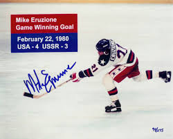 The Miracle on Mike Eruzione Game Winning Goal