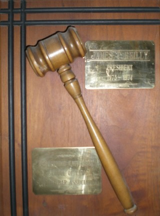 Pepperdine University School of Law Student Bar Assocaition President Plaque 1973-74 High