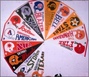 World Football League Pennants