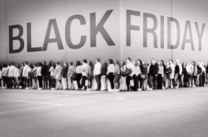 Black Friday Shopping Crowd 1