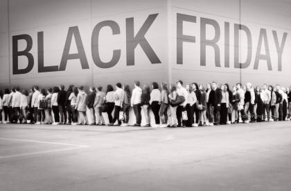 Black Friday Shopping Crowd 1