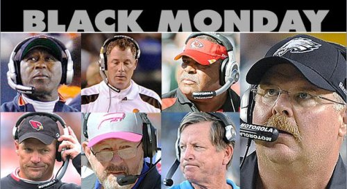 Black Monday in the NFL 2013 Seven Coaches Fired