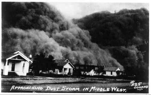 Black Sunday 1935 Oklahoma Dust Storm 1