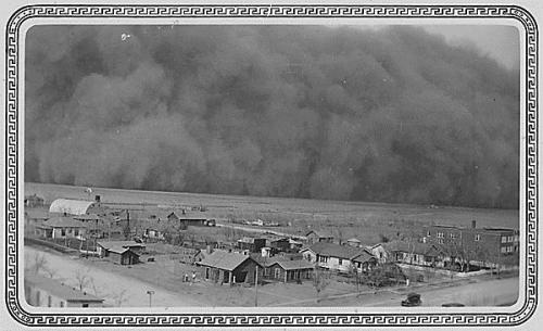 Black Sunday 1935 Oklahoma Dust Storm 3
