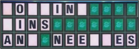 Bowling Pins and Needles 8 blanks