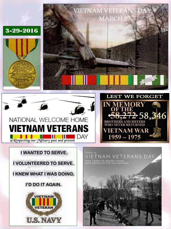 Vietnam Veterans Day 2016
