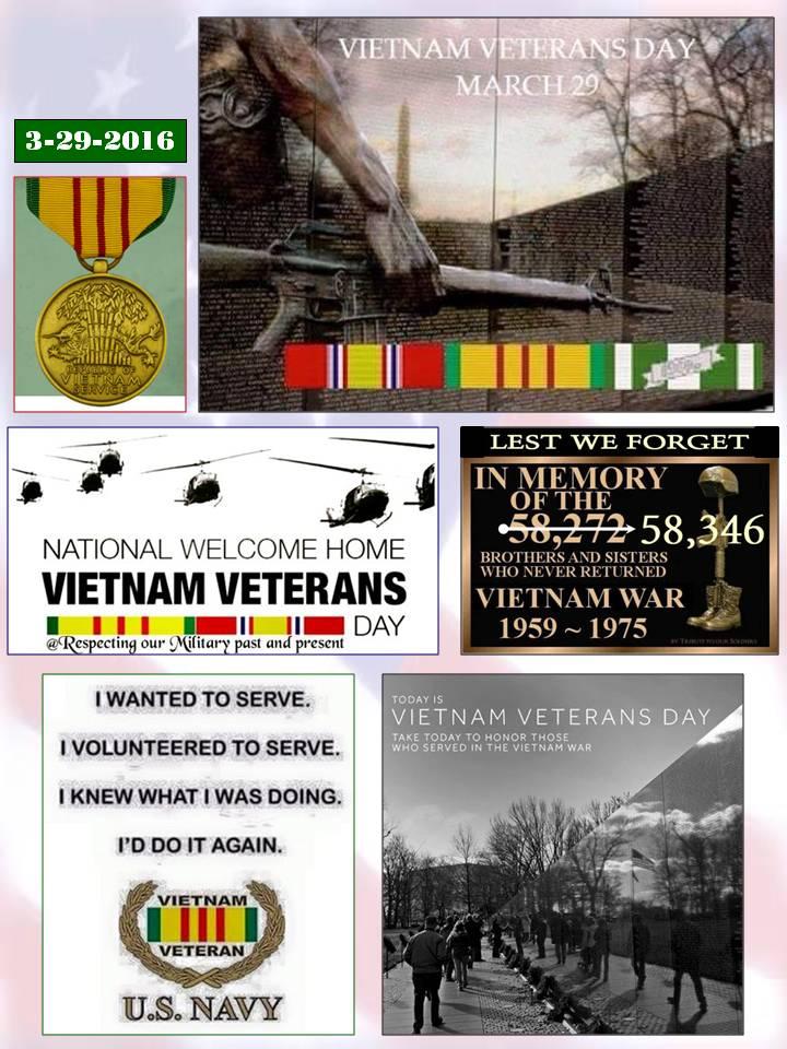 Vietnam Veterans Day 2016