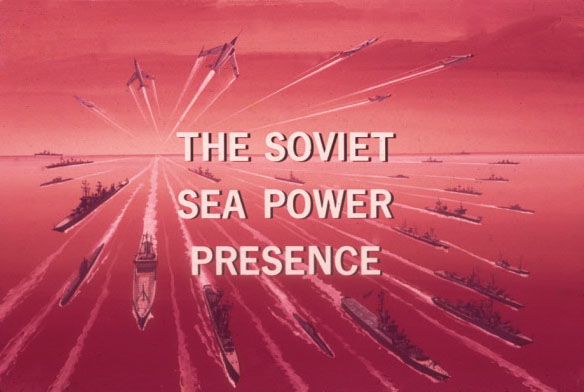 CNO Sea Power The Soviet Sea Power Presence 1 Title Slide