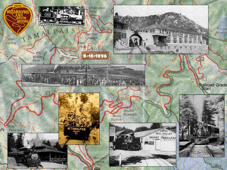 Mt. Tamalpais & Muir Woods Railway horizontal 2